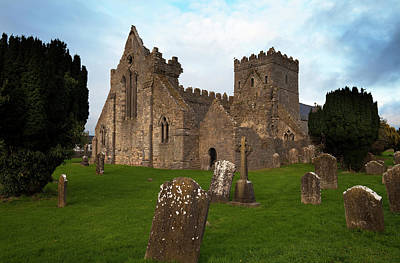Early Christian Photograph - 13th Century Collegiate Church Of St by Panoramic Images