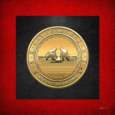 13th Degree Mason - Royal Arch Of Solomon Masonic Jewel  Original by Serge Averbukh