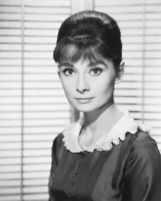 Audrey Hepburn Photograph - Audrey Hepburn by Silver Screen
