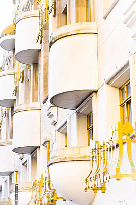 Ledge Photograph - Balconies by Tom Gowanlock