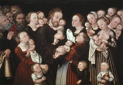 Cranach, Lucas, The Elder 1472-1553 Print by Everett