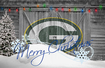 Bay Photograph - Green Bay Packers by Joe Hamilton