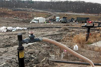 Landfill Gas Recovery Well Print by Jim West