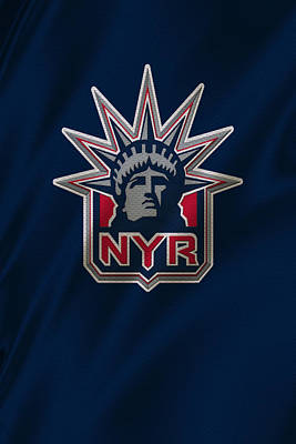Hockey Sweaters Photograph - New York Rangers by Joe Hamilton