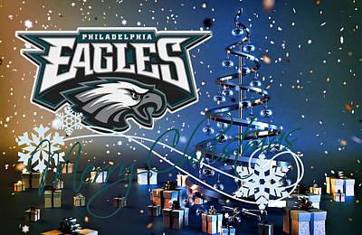 Present Photograph - Philadelphia Eagles by Joe Hamilton