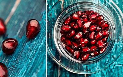 Collage Photograph - Pomegranate by Nailia Schwarz