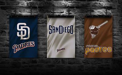 San Diego California Baseball Stadiums Photograph - San Diego Padres by Joe Hamilton