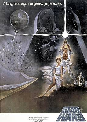 Star Wars Mixed Media - Star Wars by Baltzgar