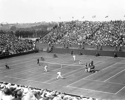 Photograph - The Davis Cup by Retro Images Archive