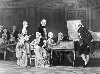 Wolfgang Amadeus Mozart (1756-1791) Print by Granger