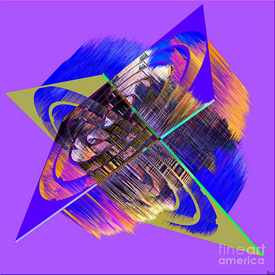 1422 Abstract Thought Print by Chowdary V Arikatla