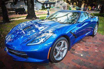 Modern World Photograph - 2014 Chevrolet Corvette C7 by Rich Franco