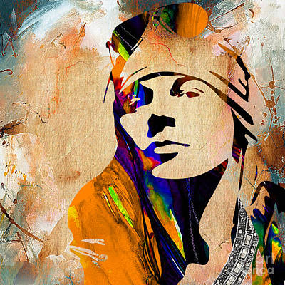 Axl Rose Mixed Media - Axl Roxe Collection by Marvin Blaine