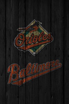 Baltimore Orioles Print by Joe Hamilton