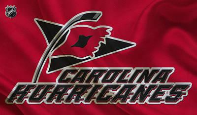 Carolina Hurricanes Print by Joe Hamilton