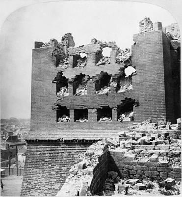 Boxer Rebellion Photograph - China Boxer Rebellion by Granger