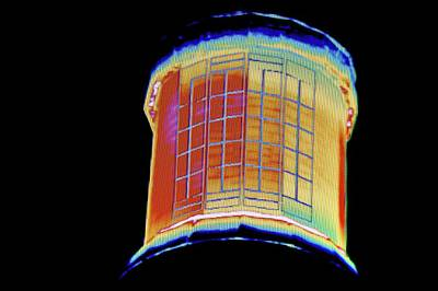 Mirror Imaging Photograph - Concentrating Solar Power Plant by Philippe Psaila