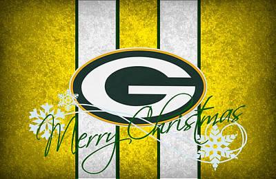 Santa Photograph - Green Bay Packers by Joe Hamilton