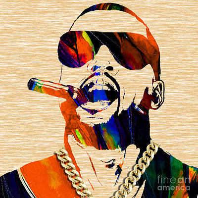 Kanye West Collection Print by Marvin Blaine