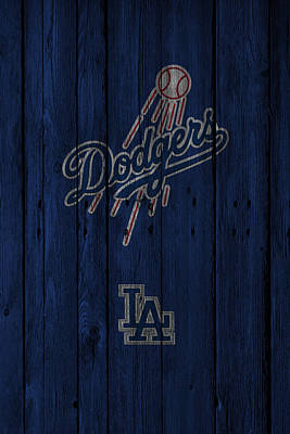 Dodgers Photograph - Los Angeles Dodgers by Joe Hamilton