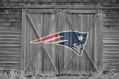 New England Barns Photograph - New England Patriots by Joe Hamilton