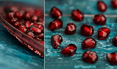 Glasses Photograph - Pomegranate by Nailia Schwarz