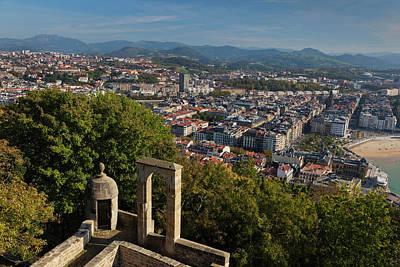 Basque Photograph - Spain, Basque Country Region, Guipuzcoa by Walter Bibikow