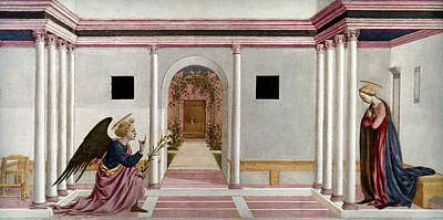 Incarnation Painting - The Annunciation by Granger