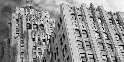 The Fisher Building Print by Twenty Two North Photography