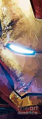 The Avengers Digital Art - 154. I'm An Army. by Tam Hazlewood