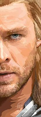 Thor Digital Art - 158. Give Me One Of Those Large Enough To Ride. by Tam Hazlewood