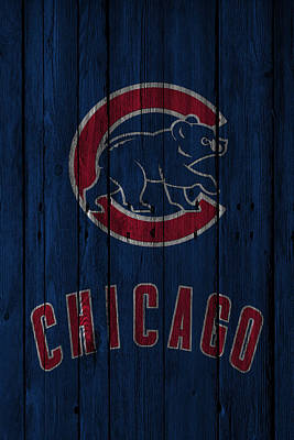 Barn Photograph - Chicago Cubs by Joe Hamilton