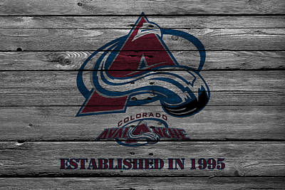 Hockey Photograph - Colorado Avalanche by Joe Hamilton
