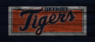 Detroit Tigers Print by Joe Hamilton