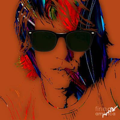 Poster Mixed Media - Jon Bon Jovi Collection by Marvin Blaine