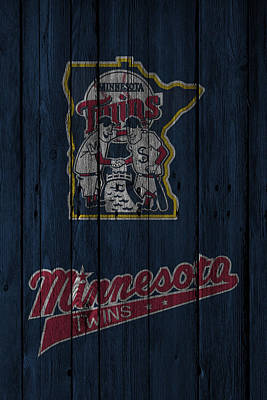 Minnesota Photograph - Minnesota Twins by Joe Hamilton