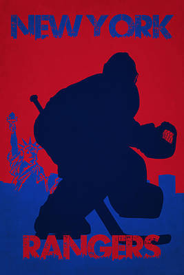 New York Rangers Photograph - New York Rangers by Joe Hamilton