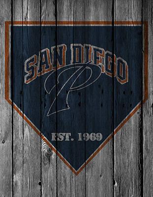 San Diego Padres Print by Joe Hamilton