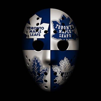 Goalie Photograph - Toronto Maple Leafs by Joe Hamilton