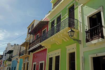 Usa, Puerto Rico, San Juan Print by Kymri Wilt