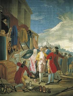Tapestries Textiles Photograph - Goya Y Lucientes, Francisco De by Everett