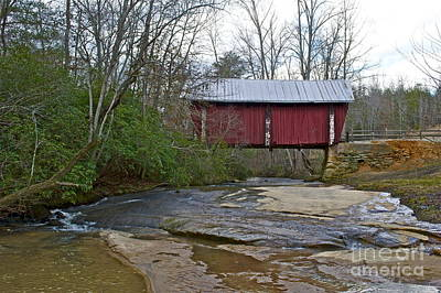 Campbells Covered Bridge Photograph - Campbell's Covered Bridge  by Frank Conrad