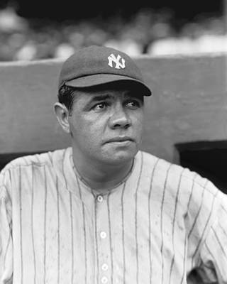 Pitcher Photograph - George H. Babe Ruth by Retro Images Archive