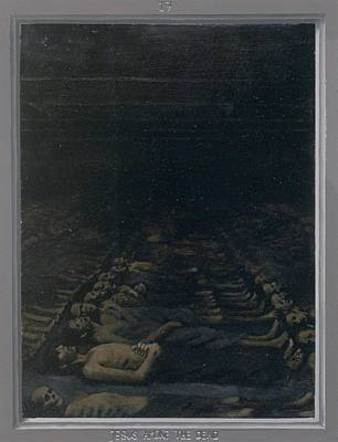 Via Dolorosa Painting - 17. Jesus Among The Dead / From The Passion Of Christ - A Gay Vision by Douglas Blanchard