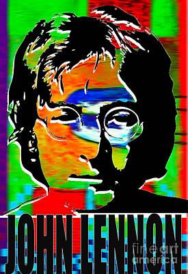 Rock And Roll Digital Art - John Lennon by Marvin Blaine