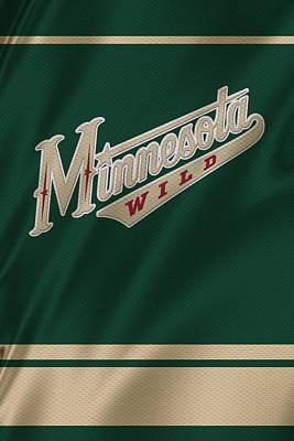 Skate Photograph - Minnesota Wild by Joe Hamilton