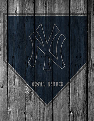 Door Photograph - New York Yankees by Joe Hamilton