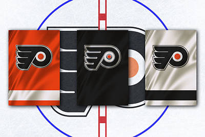 Philadelphia Flyers Photograph - Philadelphia Flyers by Joe Hamilton