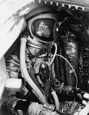 Cockpit Photograph - Scott Carpenter by Nasa