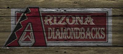 Santa Photograph - Arizona Diamondbacks by Joe Hamilton